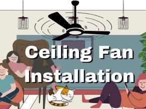 ceiling fan installation Brisbane