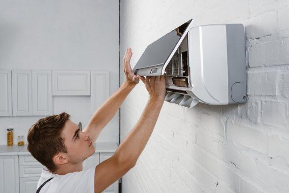 split system installation